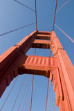 Zoom of Golden Gate Sunny Royalty Free Stock Photos
