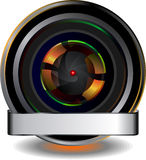 Zoom icon Stock Photography