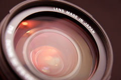 Zoom lens Royalty Free Stock Images