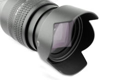 Zoom Lens. Isolted kit zoom lens for digital camera Stock Photography
