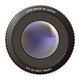 Zoom lens misty Stock Photos
