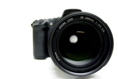 Zoom Lens On Digital Camera Royalty Free Stock Photos
