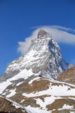 Zoom In Matterhorn Stock Photography