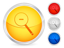 Zoom out button Royalty Free Stock Photography