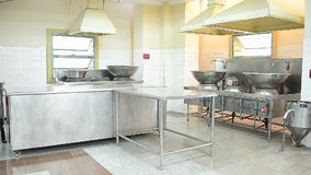 Zoom Out Main Kitchen - Independence Palace - Ho Chi Minh City (Saigon) Vietnam stock footage