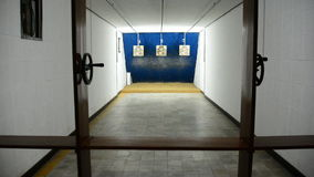 Zoom Out - Underground Gun Range - Independence Palace Ho Chi Minh City Vietnam. Former President Ngo Dinh Diem Residence during the Vietnam War stock video footage
