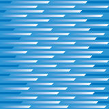 Zoom Pattern_Blue. An abstract vector illustration of a 12 square repeating pattern representing motion and speed in blues and white Stock Image