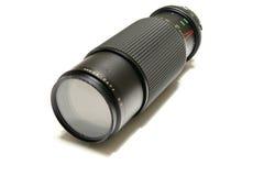 zoom professionnel de lentille Images libres de droits