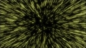 Zoom into star wars hyperspace