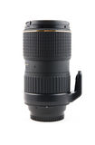 Zoom telephoto lens for slr camera. On a white background Royalty Free Stock Images