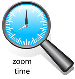 Zoom time Royalty Free Stock Photo