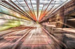 Zoomande transportör Royaltyfri Bild