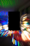 Zoomed lights background effect Royalty Free Stock Photos