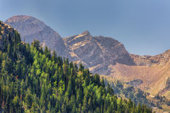 Zoomed in Wasatch Back Royalty Free Stock Photos