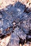 Zoomfarbdynamische Abstraktion Stockfotografie