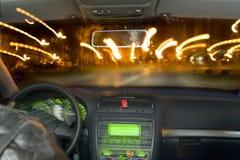 zoomin улицы Стоковое фото RF