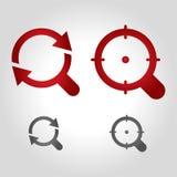 Zoomlogo Lizenzfreies Stockfoto