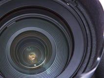 Zoomobjektiv Stockfoto