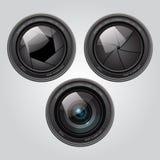Zoomobjektiv Lizenzfreie Stockbilder