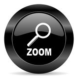 Zoomsymbol Royaltyfria Foton