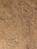 Zoomu out żwiru i piaska tekstura Zdjęcia Royalty Free
