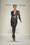 Zoon Bleke Jung - de Modeshow van New York Royalty-vrije Stock Afbeeldingen