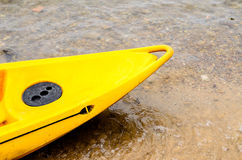 Zoon of Canoe. Zoom of Canoe on the Beach Photo taken on: September 7th, 2013 royalty free stock image