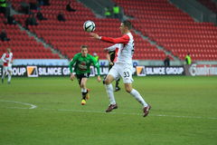Zoran Milutinovic - Slavia Prague Royalty Free Stock Image