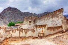 Zorawar fort, Leh, Ladakh, Jammu and Kashmir, Indien Royaltyfri Fotografi