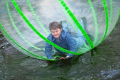 Zorb Stock Photography