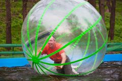 Zorb Royalty Free Stock Image
