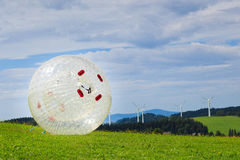 Zorbing Images stock