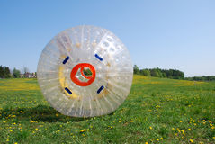 zorbing Photographie stock