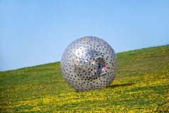 Zorbing Royalty Free Stock Image