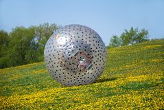 Zorbing stock photography
