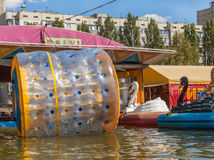 Zorbing Ball Stock Images
