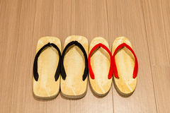 Zori sandal on floor. Stock Image