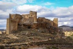 Zorita castle, Castilla la Mancha, Spain Stock Photo