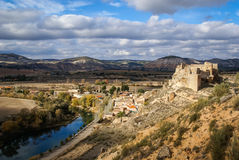 Zorita castle, Castilla la Mancha, Spain Stock Images