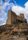Zorita castle, Castilla la Mancha, Spain Stock Photos