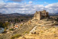 Zorita castle, Castilla la Mancha, Spain Royalty Free Stock Photos