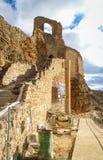 Zorita castle, Castilla la Mancha, Spain Stock Photography