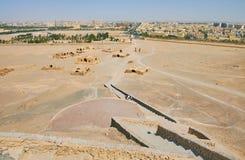 Zoroastrian archeologiczny miejsce w Yazd, Iran zdjęcie stock