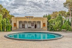 Zoroastrian Fire temple in Yazd Stock Image