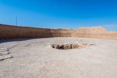 Zoroastrian ruiny w Yazd Obraz Stock