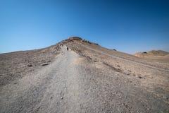 Zoroastrian ruiny w Yazd Zdjęcie Stock