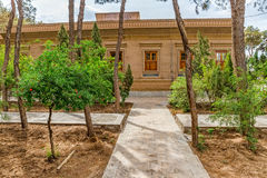 Zoroastrian temple garden Stock Photos