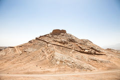 Zoroastrian Tower of Silence, Yazd Stock Image