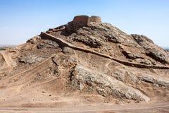 Zoroastrian Tower of Silence Stock Image
