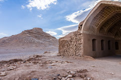 Zoroastrian Tower of Silence in Yazd, Iran Royalty Free Stock Images
